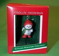 1989 Strollin Snowman