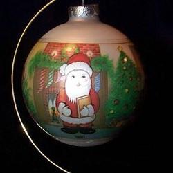 1980 Christmas Tree Ball 2nd-Goebel Ornament