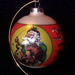 1980 Christmas Tree Ball 3rd-Goebel Ornament