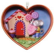 2017 Cookie Cutter Mouse  - Be Mine Hallmark ornament (QHA9112)