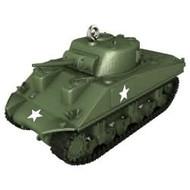 2017 1943 M4A3 Sherman Tank Hallmark ornament - QXI3185