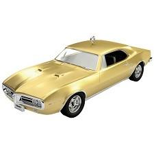 1967 Pontiac Firebird 400 Hallmark Ornament