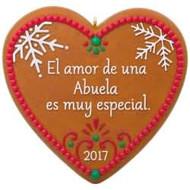 2017 Amor de una Abuela Hallmark ornament - QSM7835