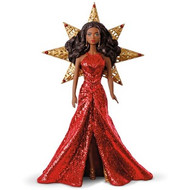 2017 Barbie - Holiday #3 - African American (QX9275)