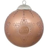 2017 Christmas Commemorative #5 Hallmark ornament - QX9322