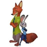 2017 Disney - Judy Hopps and Nick Wilde - Zootopia Hallmark ornament - QXD6305