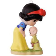 2017 Disney - Precious Moments - Snow White and Dopey Hallmark ornament - QXD6182