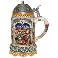2017 Elf Festivities Beer Stein Hallmark ornament - QFM3322