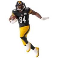 2017 Football - Antonio Brown - Pittsburgh Steelers Hallmark ornament - QXI3505