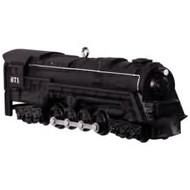 2017 Lionel #22 - 671 S-2 Turbine Steam Locomotive Hallmark ornament - QX9262