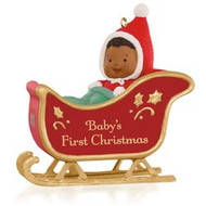 2015 Babys First Christmas - African American