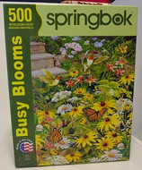 Busy Blooms - 500 Pieces - Puzzle