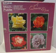 A Quartet of Roses - 4 Mini Puzzles - 280 Pieces