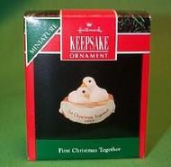1990 1st Christmas-Doves