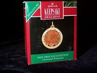 1990 Precious Edition #1 - Poinsettia