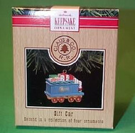 1991 Claus And Co Railroad - Gift Car