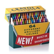 2013 Crayola - Big Box Of 64!