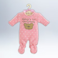 2012 Baby Girl's 1st Christmas