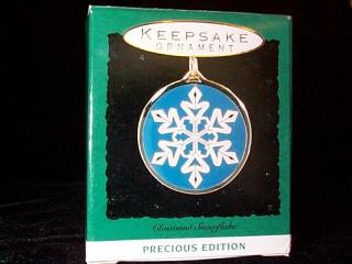 1993 Precious Edition - Snowflake