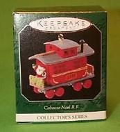 1998 Noel Railroad #10F - Caboose