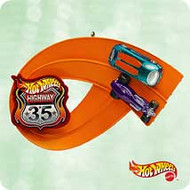 2003 Hot Wheels - On Track Hallmark ornament
