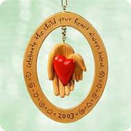 2003 Adoption Hallmark ornament