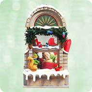2003 Christmas Windows #1 - Club Hallmark ornament