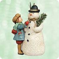 2003 Chalk- A Very Merry Snowman Hallmark ornament
