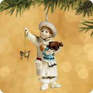 2002 Chalk - Joyous Angel Hallmark ornament