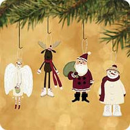 2002 Santa And His Sweetest Friends Hallmark ornament