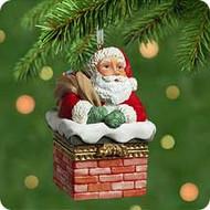2001 Santa's Sweet Surprise Hallmark ornament