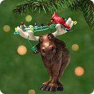 2001 Moose's Merry Christmas Hallmark ornament