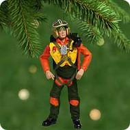 2001 GI Joe Fighter Pilot Hallmark ornament
