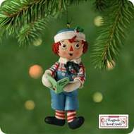 2001 Raggedy Andy Hallmark ornament