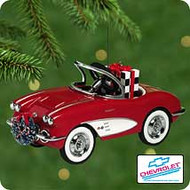 2001 Kiddie Car Classic - 1958 Custom Corvette Hallmark ornament
