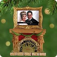 2001 1st Christmas Together - Photo Hallmark ornament