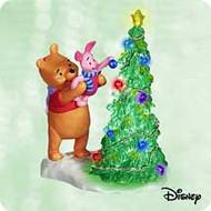 2003 Winnie The Pooh - Boost For Piglet Hallmark ornament