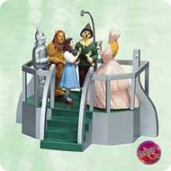 2003 Wizard Of Oz - Click Your Heels Hallmark ornament