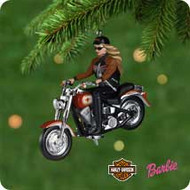 2001 Barbie - Harley Hallmark ornament