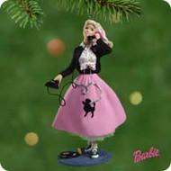 2001 Barbie - 1950's Hallmark ornament