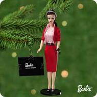 2001 Barbie - Debut #8 - Busy Gal Hallmark ornament
