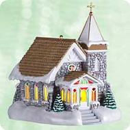 2003 Candlelight Services #6 - Fieldstone Church Hallmark ornament