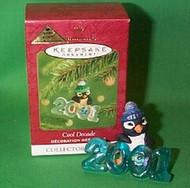 2001 Cool Decade 2 - Penguin - Colorway Hallmark ornament