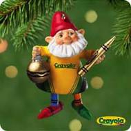 2001 Crayola - Crew Chief Hallmark ornament