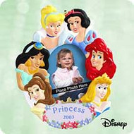 2003 Disney - Princess Photoholder Hallmark ornament