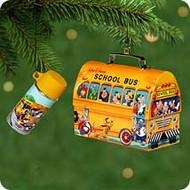 2001 Disney - School Bus Lunchbox Hallmark ornament