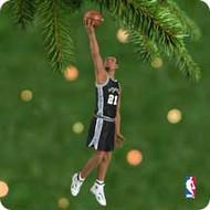 2001 Hoop Stars #7 -Tim Duncan Hallmark ornament