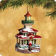 2002 Lighthouse Greetings #6 Hallmark ornament