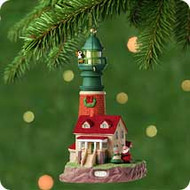 2001 Lighthouse Greetings #5 Hallmark ornament