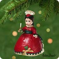 2001 Madame Alexander #6 - Victorian Christmas Hallmark ornament